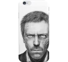 Dr. Gregory House, Hugh Laurie, Portrait Art, House MD iPhone Case/Skin