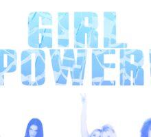 Spice Girls/Girl Power (Blue) Sticker