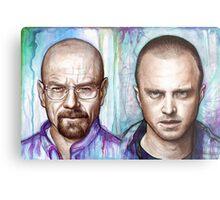 Walter and Jesse - Breaking Bad Metal Print