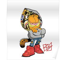 Garfield Bape Poster