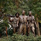 The Three Servicemen - Vietnam Memorial by Larry3