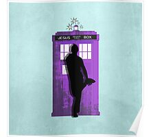 The Jesus private call box Tardis Poster