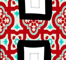 Letter H 2 Sticker