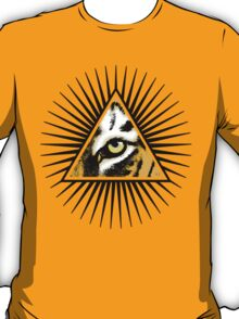 All seeing eye of the tiger T-Shirt