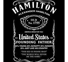 Hamilton Whiskey Photographic Print
