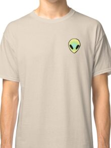 blue, green, and yellow alien Classic T-Shirt