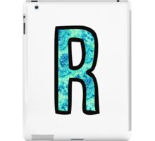 Letter R iPad Case/Skin