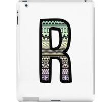 Letter R 2 iPad Case/Skin