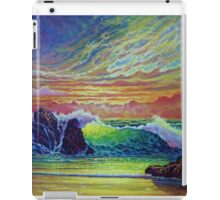 Red Skies at Sunset iPad Case/Skin