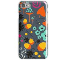 Retro Florals iPhone Case/Skin