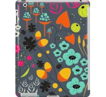 Retro Florals iPad Case/Skin