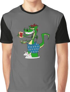 A Late Knight Snack Graphic T-Shirt