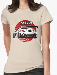 Toyota Sport car Womens Fitted T-Shirt