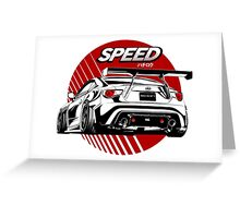 Toyota Sport car Greeting Card
