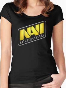Dota 2 Na'Vi Logo Shirt Women's Fitted Scoop T-Shirt