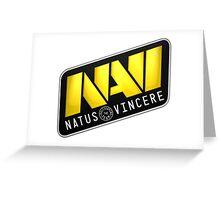 Dota 2 Na'Vi Logo Shirt Greeting Card