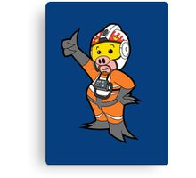 Leave it to Porkins  Canvas Print
