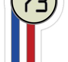 Sheldon Cooper has good numbers, the Best Numbers Sticker