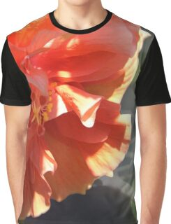 Double Peach Graphic T-Shirt