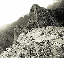 Machu Picchu & Wonder of the World  by David  Perea