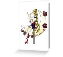 Sailor Moon Pin Up Greeting Card