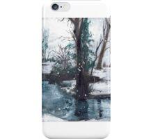 Winter River iPhone Case/Skin