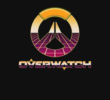 80's Overwatch Digital Grid Logo Unisex T-Shirt