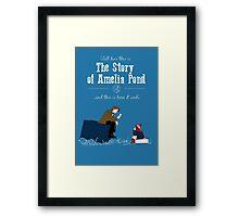 The story of Amelia Pond Framed Print