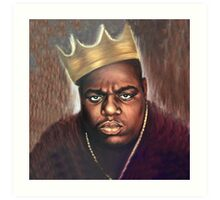 Biggie Notorious Big Art Print