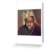 Biggie Notorious Big Greeting Card