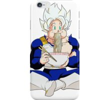 Goku eating Noodles - DBZ iPhone Case/Skin