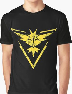 PokemonGO Instinct Yellow Team Graphic T-Shirt