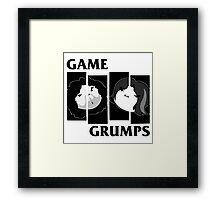 Game Grumps Black Flag Framed Print