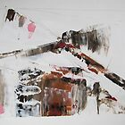 When the cat's away, the mice will play - Original Wall Modern Abstract Art Painting  by Dmitri Matkovsky