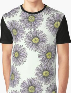 Field of Asters Graphic T-Shirt