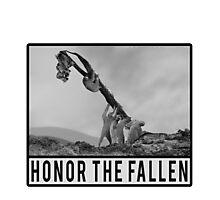 Honor the Fallen - Sloth Iwo Jima Photographic Print
