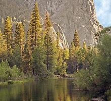 The Three Brothers - Yosemite Valley, California USA by TonyCrehan