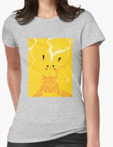 Vintage Pikachu Womens Fitted T-Shirt