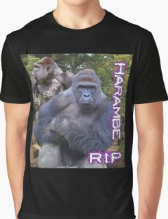 Harambe - RIP Vintage OG  Graphic T-Shirt