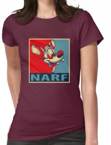 NARF! Womens Fitted T-Shirt