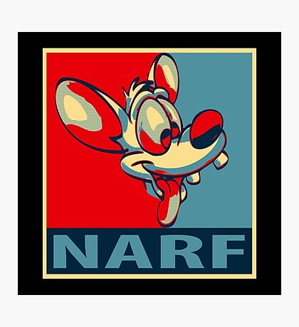 NARF! Photographic Print