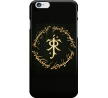 Lord of the Rings - Tolkien Logo iPhone Case/Skin