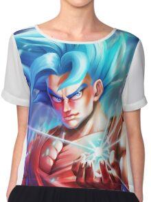 Goku Super Saiyan Blue - DBZ Chiffon Top