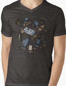 Survival Game Mens V-Neck T-Shirt