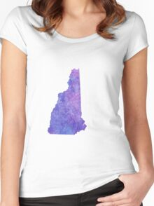 New Hampshire Women's Fitted Scoop T-Shirt