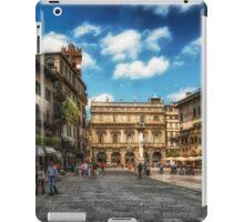 Piazza Delle Erbe iPad Case/Skin
