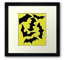 Bat Swarm Framed Print