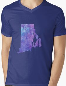 Rhode Island Mens V-Neck T-Shirt