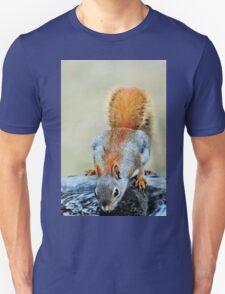 Thirsty Red Squirrel Unisex T-Shirt