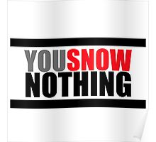 You Snow Nothing Poster